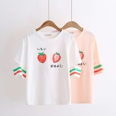 Buy Angel Love Strawberry Cutout Short-Sleeve T-shirt at YesStyle.com! Quality products at remarkable prices. FREE Worldwide Shipping available!