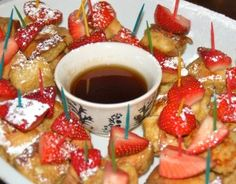 Great idea for brunch or for fun breakfast with the kids