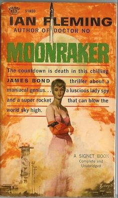 "Just finished Moonraker. James Bond never left England! And ""the girl"" turned out to be engaged.    The books are definitely different than the movies.    My favorite books (so far): On Her Majesty's Secret Service, Casino Royale, From Russia With Love, and The Spy Who Loved Me (which is narrated in the first person by ""the Bond girl"")."