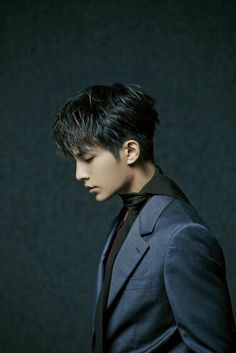 Aaron yan - still handsome from a side view