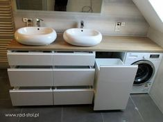 Fantastic Cost-Free Bathroom Furniture wooden Ideas Excessive stuff plus insufficient locations to store them restricting the design of your bathroom? Laundry Room Design, Bathroom Design Small, Bathroom Layout, Bathroom Interior Design, Bathroom Modern, Interior Livingroom, Attic Bathroom, Bathroom Toilets, Laundry In Bathroom
