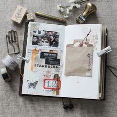 Einfach ein kleines Kuvert in deinen Filo oder Bullett Journal kleben und du hast für Kleine Dinge Platz