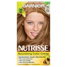 Achieve a silky & healthy lightest intense copper hair color with gray coverage with Nutrisse Nourishing Color Creme, a permanent hair color by Garnier. Skin Allergy Test, Buttery Blonde, Color Rubio, Colour Consultant, Air Dry Hair, Natural Blondes, Types Of Curls, Copper Hair, Permanent Hair Color