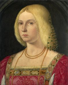 Venetian School, ok1510-20  Portrait of a Lady