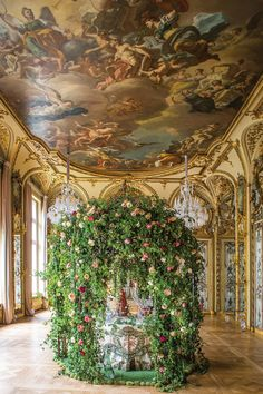 Flowering Paris with Laura Dowling - Flower Magazine Hanging Flowers Wedding, Wedding Flower Arrangements, Floral Arrangements, Garden Pavilion, Maximalism, Pink Bouquet, Spring Blooms, All Flowers, Flower Wall