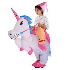 Costume Gonflable Déguisement Licorne pour enfant et adulte - Enfants…
