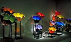 dave chiculy    Macchia Forest , 2002. Dale Chihuly (b. 1941). Glass. Oklahoma City ...