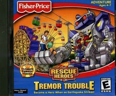 Rescue Heroes - This was a computer game my mom got me, and it was pretty fun. One of my major interests besides superheroes were cops and firefighters. So this game was pretty awesome. I remember, though there was an installment in this franchise where they turned it into some post-apocalyptic thing. I don't know, I really don't remember.