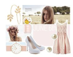 june 6th by witty-banter on Polyvore featuring Miss Selfridge, Lipsy, Carolee, bestdressedguest and barnwedding