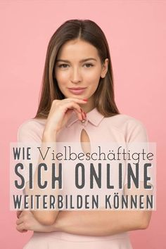 How busy people can learn online - Bildung Inbound Marketing, Affiliate Marketing, Online Marketing, Motivation, Stress Management, Girl Power, Online Business, Social Media, Science