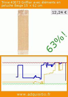 Trixie 43073 Griffoir avec éléments en peluche Beige 15 × 62 cm (Divers). Réduction de 63%! Prix actuel 12,24 €, l'ancien prix était de 33,12 €. https://www.adquisitio.fr/trixie/griffoir-avec-peluche-15