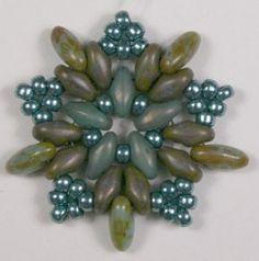 Deb Roberti's Starburst Earring pattern