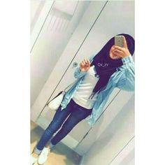 Sania shah ❤ Hijab Fashion Summer, Modest Fashion Hijab, Hijab Chic, Hijabi Girl, Girl Hijab, Hijab Outfit, Stylish Girl Pic, Cute Girl Photo, Hijab Collection