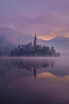 Magical morning on lake Bled, Slovenija, by Janez Tolar, on 500px.