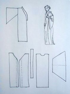 Make your own abaya! how to make an abaya - part 1 Abaya Dubai, Simple Abaya Designs, Abaya Pattern, Make Your Own Clothes, Sewing Patterns Free, Easy Patterns, Sewing For Beginners, Sewing Techniques, Pattern Making