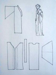 how to make an abaya - part 1