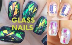 Glass Nails!! It's a big trend lately on Instagram, straight from Korea! I've had so many requests to make a video on this, and I bought a few products and a...