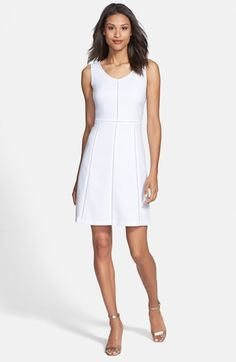Marc New York by Andrew Marc Paneled A-Line Dress available at #Nordstrom