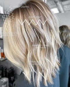 Mar 31 2020 - This Pin was discovered by HolleewoodHair Blonde Foils, Hair Foils, Hair Cutting Techniques, Hair Color Techniques, Work Hairstyles, Pretty Hairstyles, Balayage Hair, Ombre Hair, Haircolor