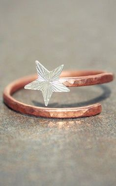 Shooting star midi ring | jewellery design