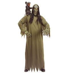 Comprar Disfraz Halloween Bruja Terror talla única .