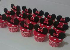 Minniemause cupcake 😊