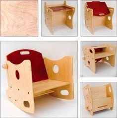 WeeCANDU 5 in 1 - Multi-Use Child's Furniture