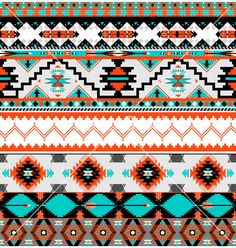 Seamless navaho pattern vector 1268034 - by tomuato on VectorStock®