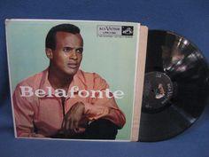 Vintage Harry Belafonte  Belafonte Vinyl LP by sweetleafvinyl