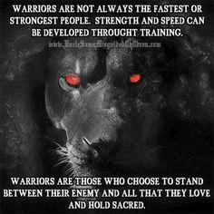 Finding my warrior inside