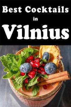Drinking in Vilnius is a must during any visit to the capital of Lithuania. Check out 10 Vilnius bars and and pubs where you can drink beer, wine, cider, mead and cocktails. | Vilnius Bars | Vilnius Pubs | Vilnius Beer | Vilnius Craft Beer | Lithuanian Beer | Craft Beer in Vilnius Whisky Shop, Lithuanian Recipes, Man Bars, Drinking Around The World, All Beer, Drink Beer, Fun Cocktails, Mead, Yummy Drinks