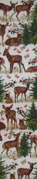 Made in Germany - deer paper for crafting or scrapbooking