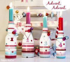 Tabula Rosi - Colorful artwork and crafty adventures Christmas Mood, Christmas Crafts, Christmas Decorations, Holiday Decor, Diy And Crafts, Crafts For Kids, Advent Wreath, Colorful Artwork, Crafty