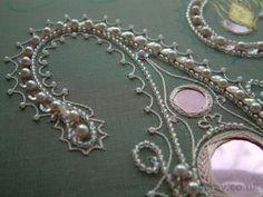 Tambour embroidery | Caroline Homfray wowwwww