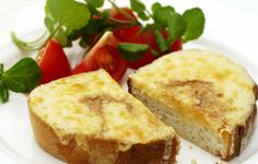 Welsh Rarebit - Lovely little lunch. And mustard with a kick please!
