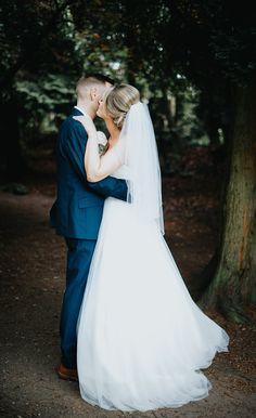 Happy newlywed couple having their wedding photography session at Denzel Gardens in Altrincham, Manchester ♡ Photography Ideas, Wedding Photography, Altrincham, Newlyweds, Wedding Season, Manchester, Woods, Gardens, Wedding Ideas
