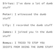 Remus tried but never succeeded