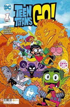 Teen Titans Go! 1, de Sholly Fisch, Hagan, Bates y Corona