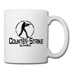 Cool Counter Strike Ceramic Coffee Mug, Tea Cup | Best Gift For Men, Women And Kids - 13.5 Oz, White -- Quickly view this special  product, click the image : Coffee Cups and Mugs