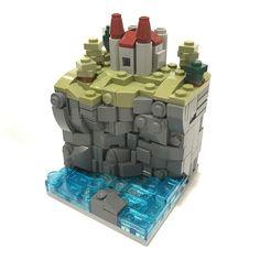 Seaside Castle (and more!): A LEGO® creation by Carter Witzenburg : Lego Design, Legos, Lego Dragon, Lego Furniture, Micro Lego, Amazing Lego Creations, Lego Activities, Lego Craft, Lego Room