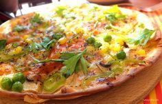 Vegetable Pizza At Calisto, Çalış, #Fethiye