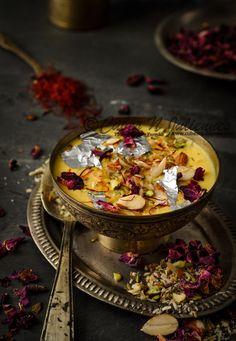 Homemade Rabdi Recipe (Rabri) - Cubes N Juliennes Indian Dessert Recipes, Indian Sweets, Sweet Recipes, Snack Recipes, Comida India, India Food, Recipes From Heaven, Food Festival, My Favorite Food