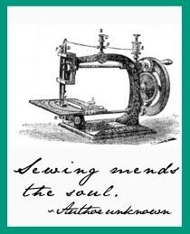 sewing mends the soul  <3