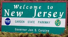 Welcome to New Jersey, Garden State Parkway