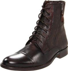 Kenneth Cole REACTION Men's Hit Men Boot,Brown,11 « Shoe Adds for your Closet