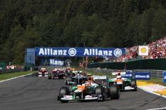 Force India satisfait de ses pilotes