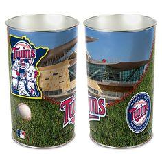 Minnesota Twins Wastebasket