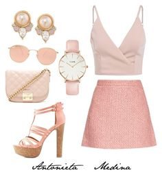 """""""Untitled #101"""" by antoo-xoxo on Polyvore featuring Carolee, Gucci, Forever 21, Charlotte Russe, Ray-Ban and CLUSE"""