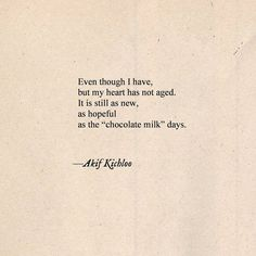 """Choco-Milk days"" 