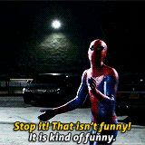 GIF this is why the amazing spider man i the only spider man movie i like